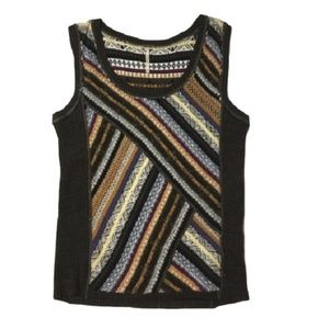 Free PEOPLE boho sweater vest tank top small